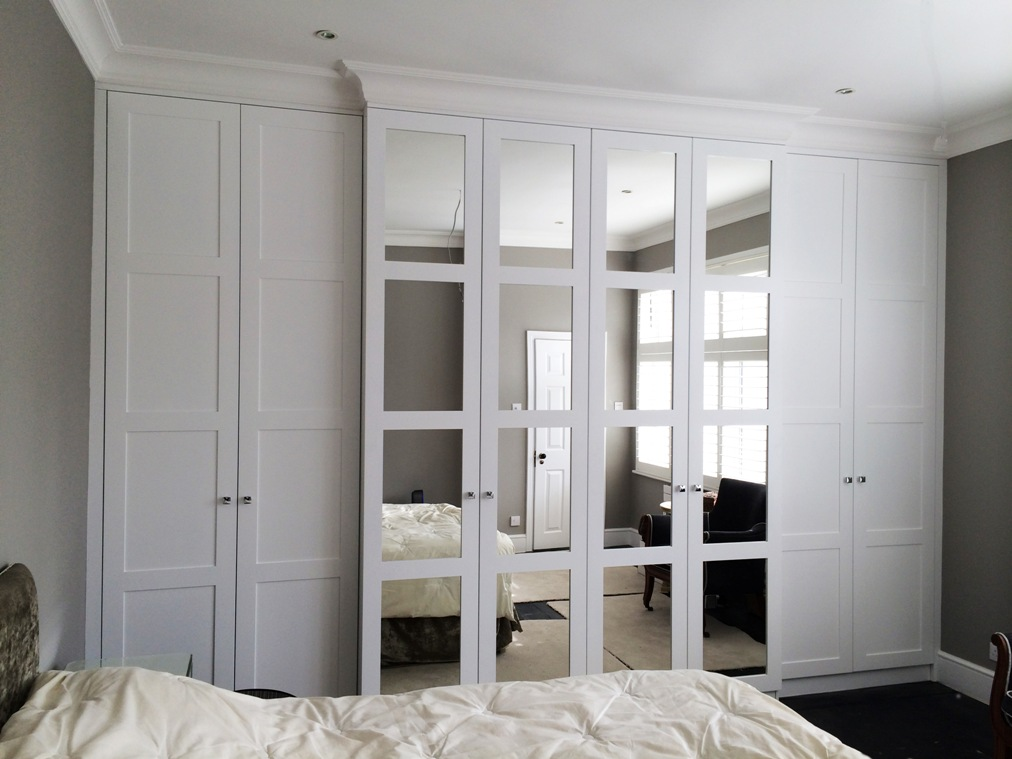 Merveilleux White Fitted Wardrobe