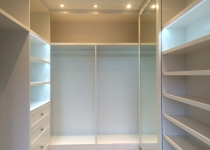 Walking bespoke wardrobe