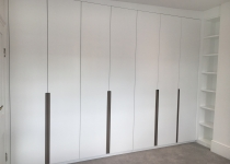 Custom doors for bespoke wardrobe