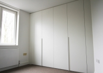 fitted white wardrobe london