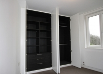 luxury fitted wardrobe