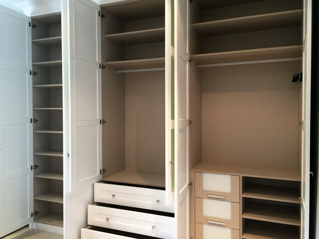 fitted bedrooms & built-in wardrobes - london bespoke interiors
