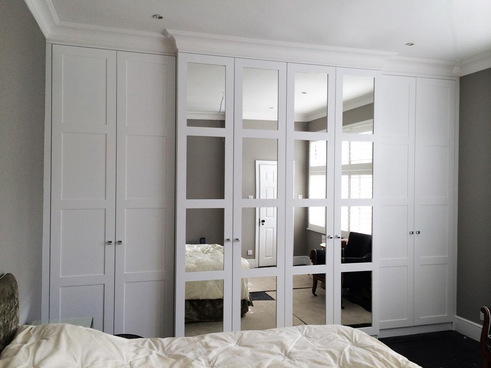 Modern Bedroom Design White Ed Wardrobe