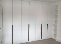 Custom doors for bespoke wardrobe