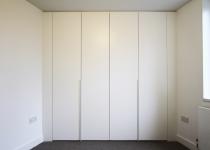 bespoke white wardrobe london
